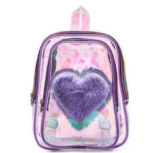 UNIF Purple Iridescent Backpack